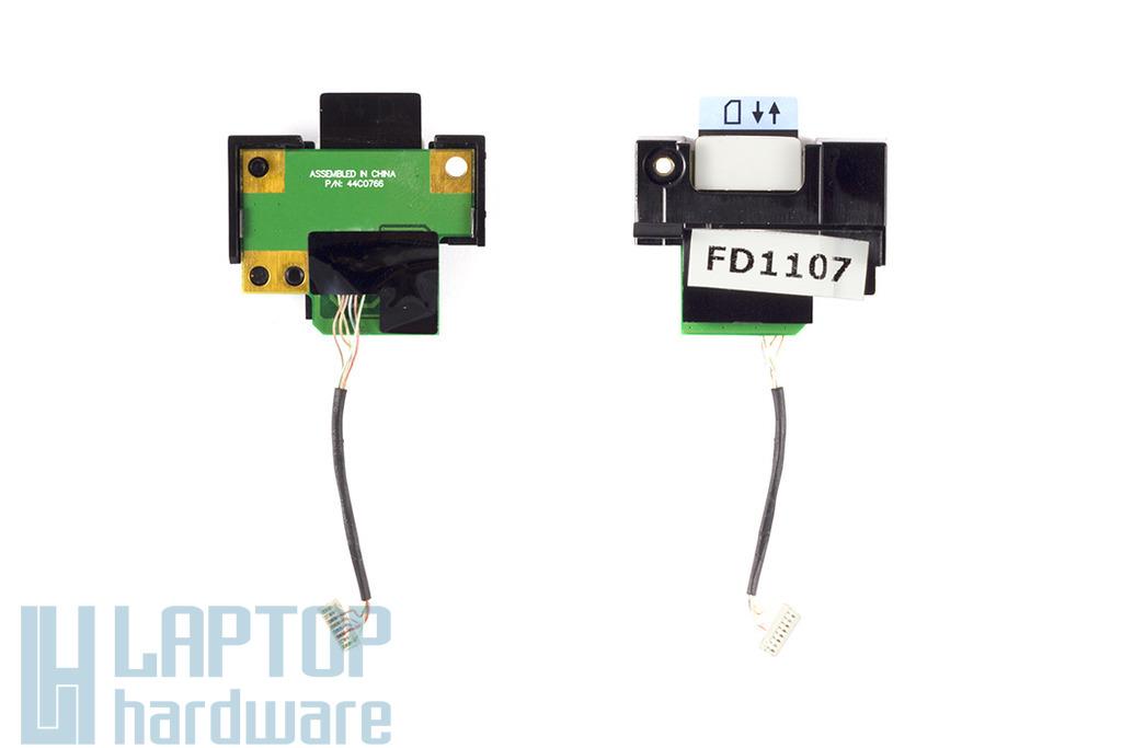 Lenovo Thinkpad T400, R400 laptophoz használt SIM kártyaolvasó panel, 44C0766