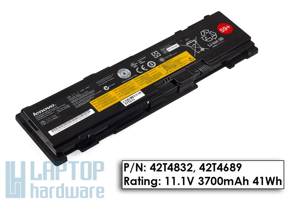 Lenovo ThinkPad T400s, T410s, T410si gyári új 6 cellás laptop akku/akkumulátor (42T4832)