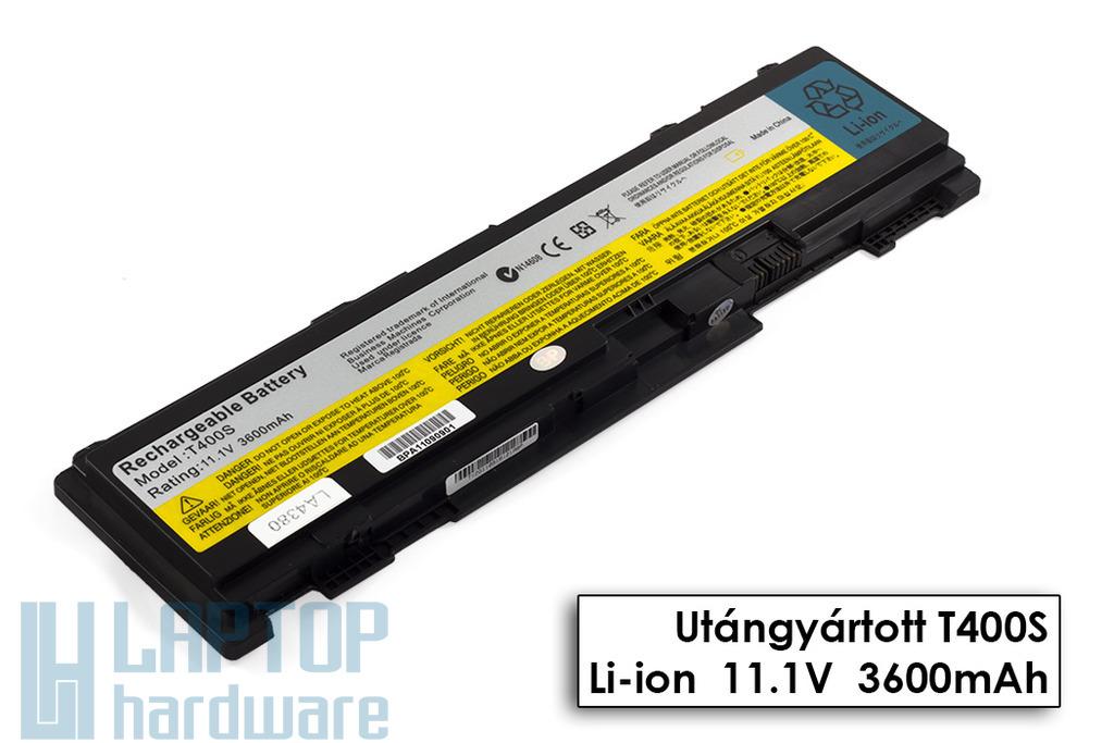 Lenovo ThinkPad T400s, T410s helyettesítő új 6 cellás laptop akku/akkumulátor (42T4688)