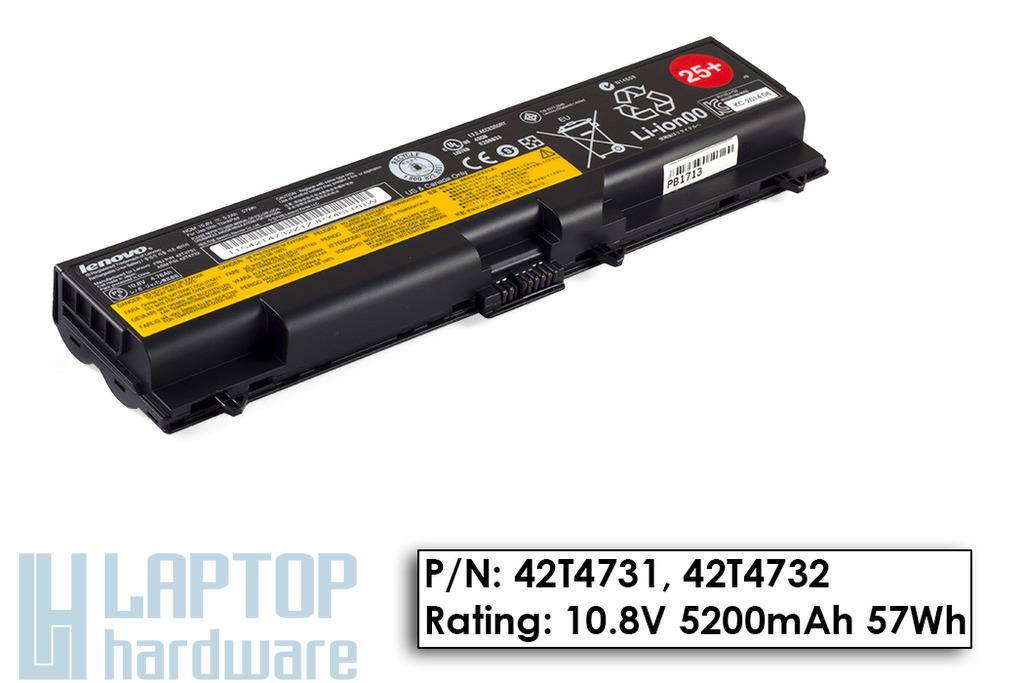 Lenovo ThinkPad T410, T510, W510 gyári új 6 cellás laptop akkumulátor, FRU 42T4731