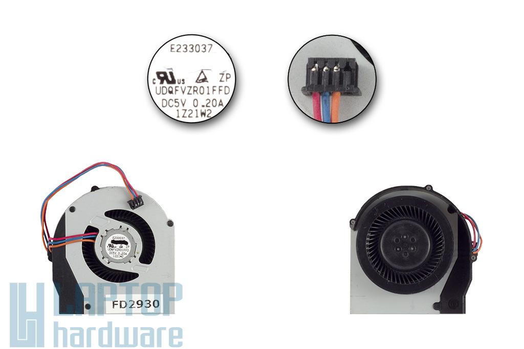 Lenovo ThinkPad T420, T420i gyári új laptop hűtő ventilátor (UDQFVZR01FFD)