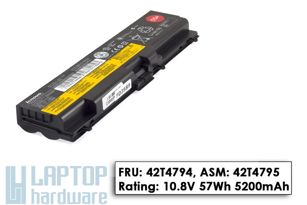 Lenovo ThinkPad T420, T520, T530 gyári új 6 cellás laptop akkumulátor, FRU 42T4794