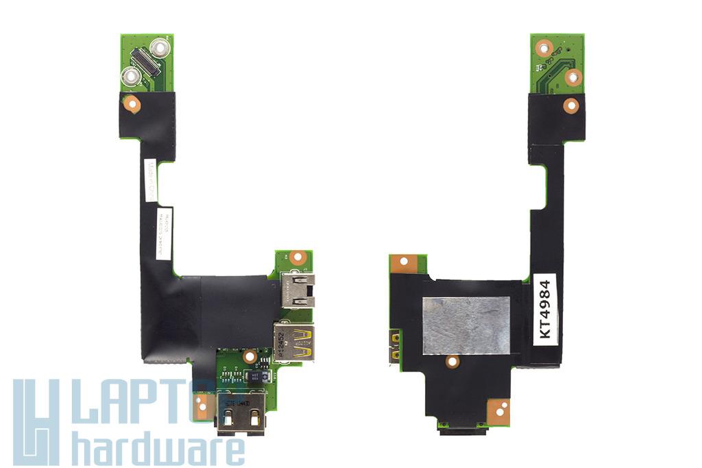 Lenovo Thinkpad T510, W510 gyári új LAN/MODEM/USB panel (63Y2125)