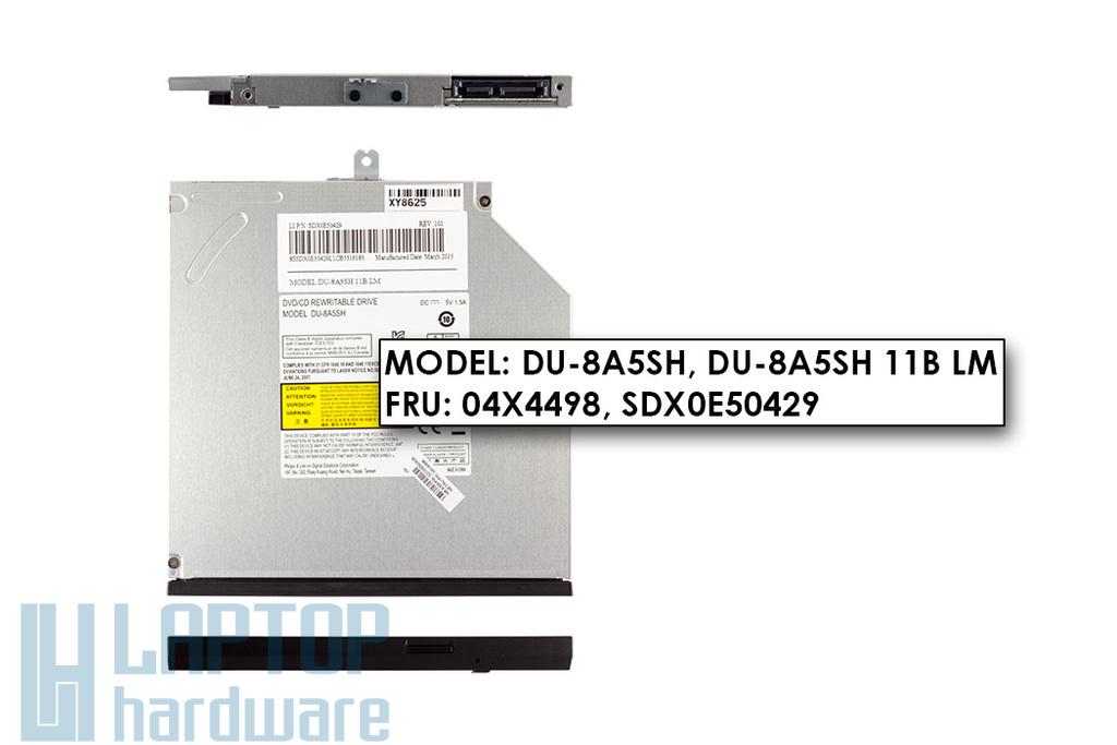 Lenovo ThinkPad T540, W540 gyári új laptop DVD író  (DU-8A5SH, 04X4498)