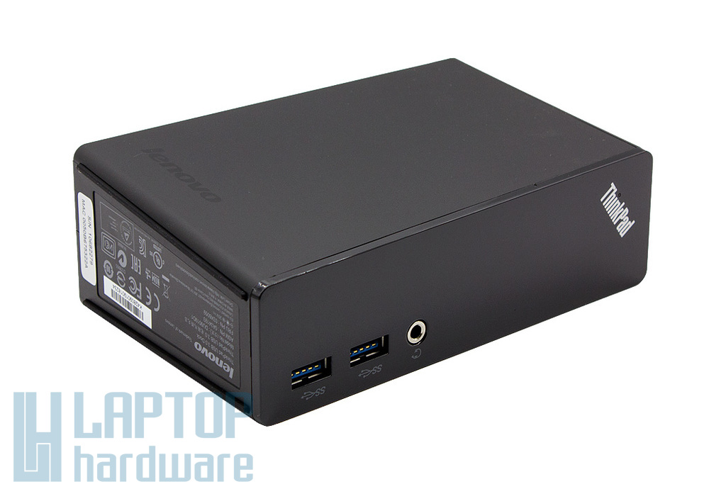 Lenovo ThinkPad USB 3.0 Dock gyári új laptop dokkoló egység (03X6059, DU9019D1)