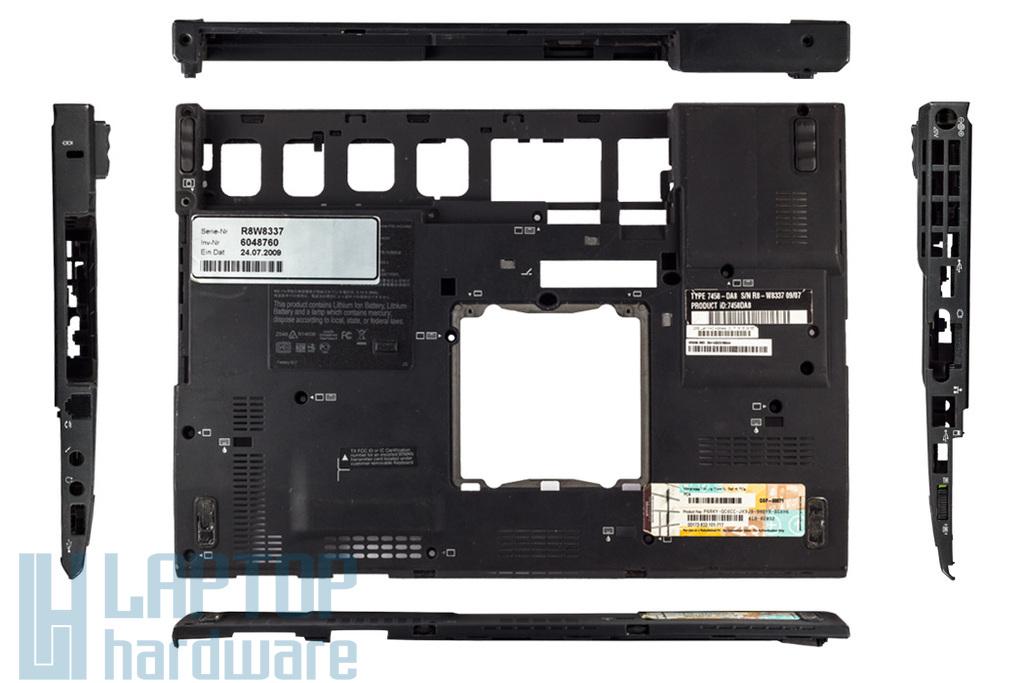 Lenovo Thinkpad X200, X201 laptophoz használt alsó fedél, 44C0950