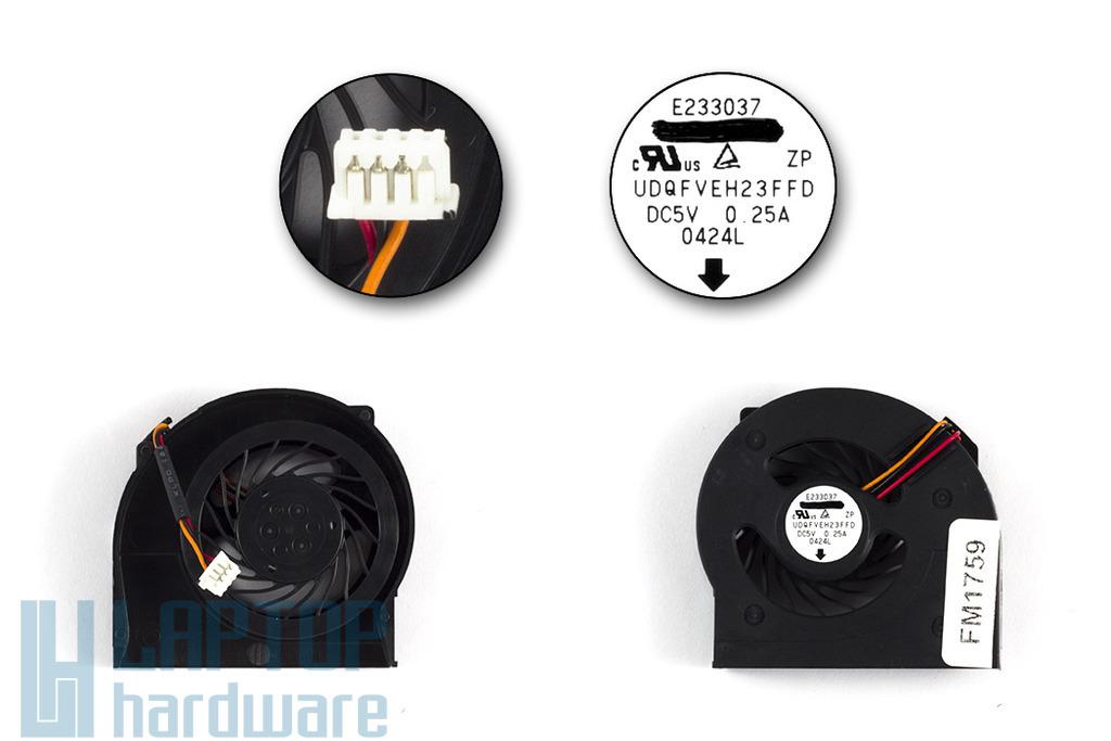 Lenovo ThinkPad X201t gyári új laptop hűtő ventilátor (60Y5452, 60Y5423)
