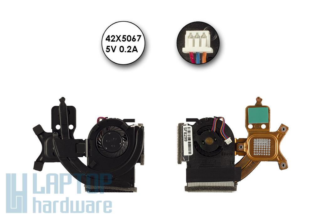 Lenovo ThinkPad X300, X301 gyári új laptop hűtőegység (42X5067)