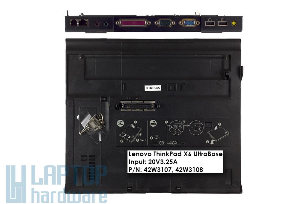 Lenovo ThinkPad X6 UltraBase dokkoló Thinkpad X60, X60s, X61 laptophoz, 42W3108