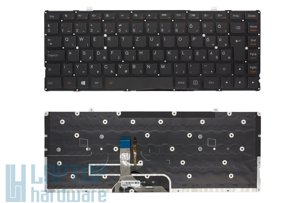 Lenovo Yoga 2 Pro 13 gyári új magyar háttér-világításos laptop billentyűzet