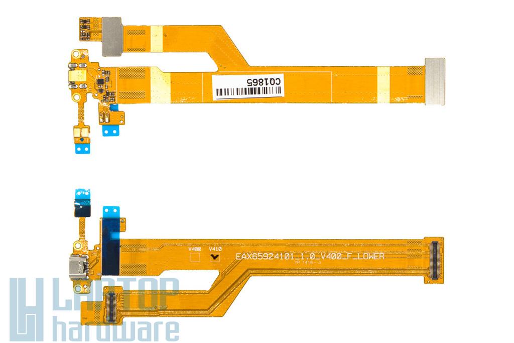 LG G Pad 7.0 (V400) tablethez gyári új USB csatlakozó kábel (EAX65924101_1.0_V400_F_LOWER YP-1416-3)
