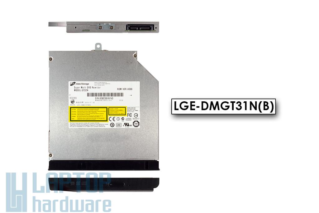 LG GT32N használt SATA laptop DVD író előlappal (LGE-DMGT31N(B))