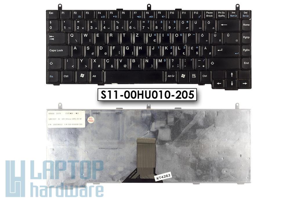 LG K1, MSI MegaBook M660 használt magyar laptop billentyűzet (S11-00HU010-205)