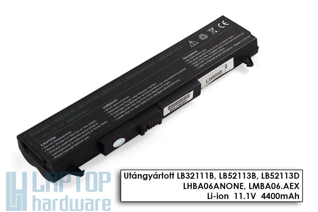 LG LM40, LW40, R400 helyettesítő új 6 cellás laptop akku/akkumulátor (LB32111B)