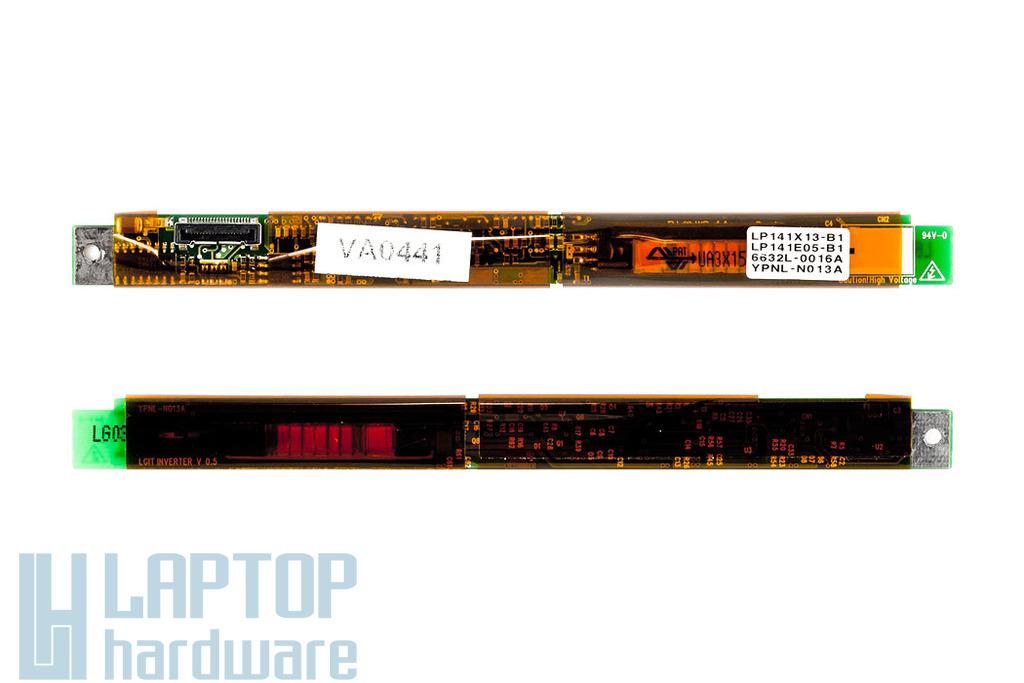 LG LP141E05, LP141X13, Dell Inspirion 500M LCD Inverter YPNL-N013A