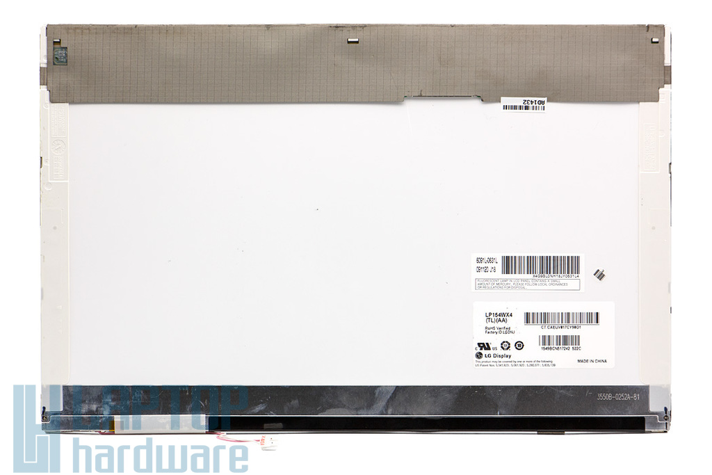 LG LP154WX4-TLAA 15,4 inch WXGA (1280x800) CCFL használt B kategóriás matt laptop kijelző