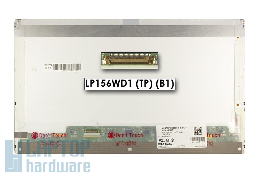 LG LP156WD1-TPB1 1600x900 eDP HD+ LED matt használt laptop kijelző