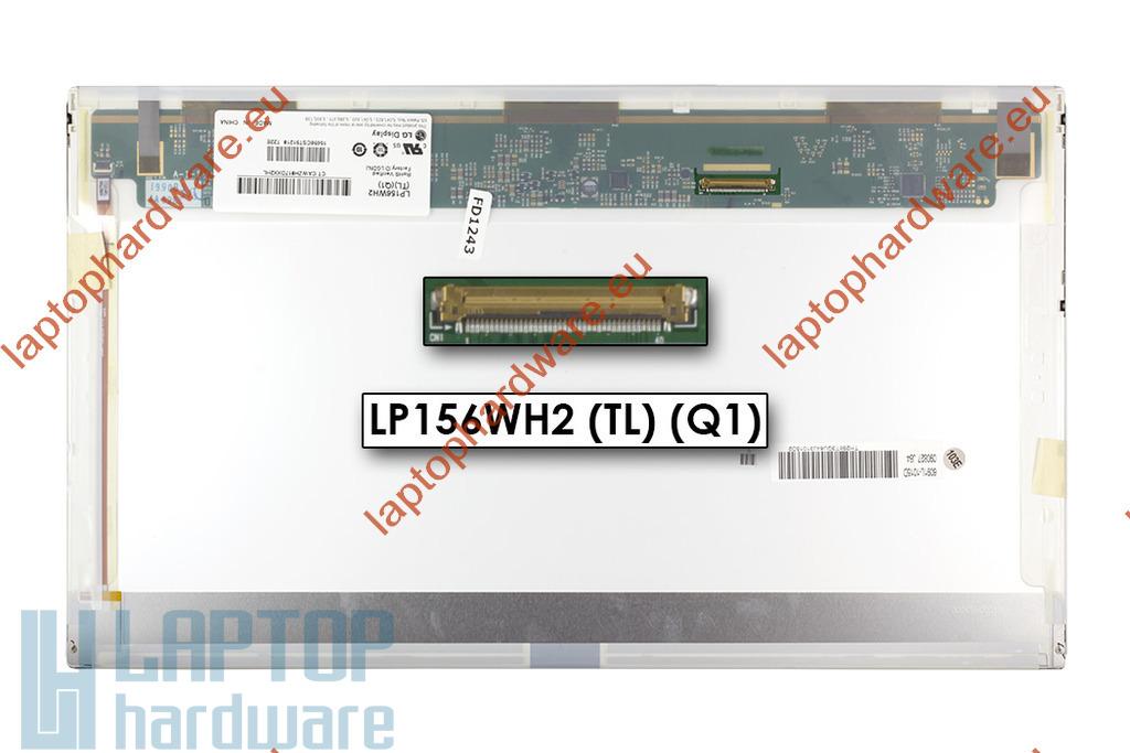 LG LP156WH2-TLEA 1366x768 HD LED használt fényes
