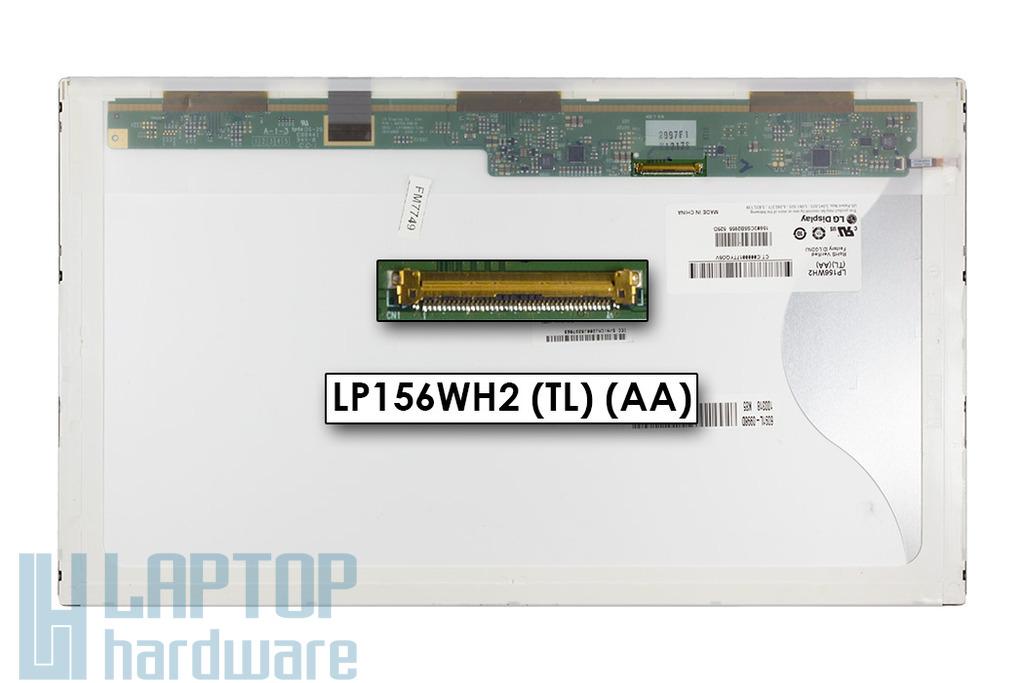 LG LP156WH2-TLAA 15,6 inch 1366x768 HD LED használt fényes laptop kijelző