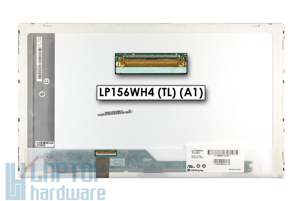 LG LP156WH4-TLA1 (15,6inch) 1366x768 HD LED használt fényes laptop kijelző