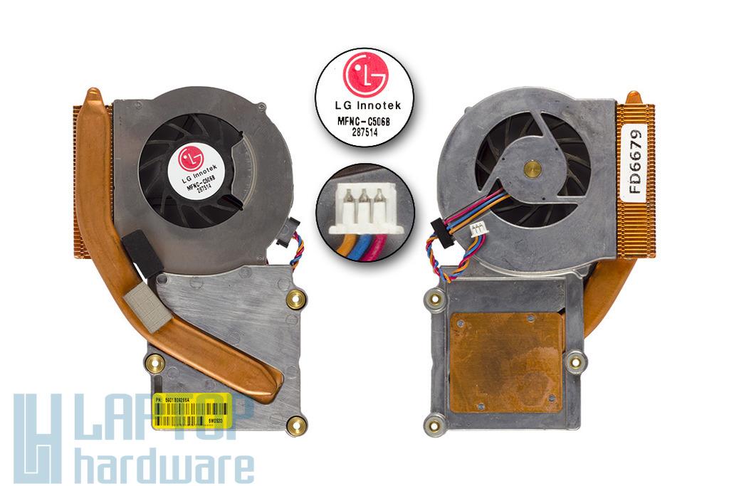 LG LS50, GS50 használt komplett laptop hűtés (5901B9266A)