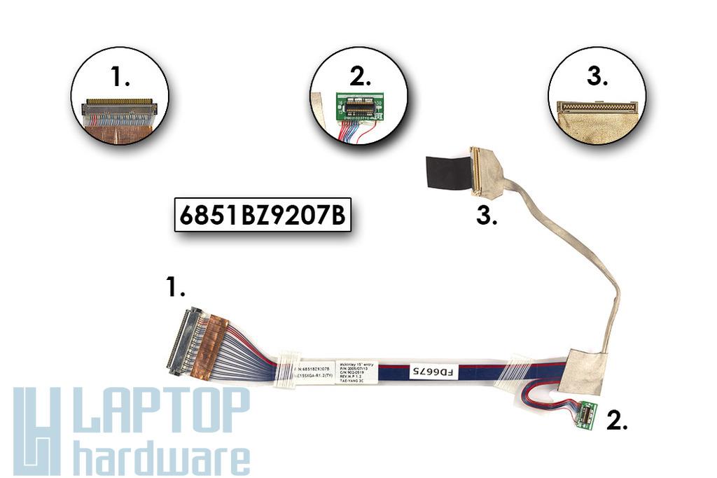 LG LS50, GS50 használt laptop kijelző kábel, 6851BZ9207B
