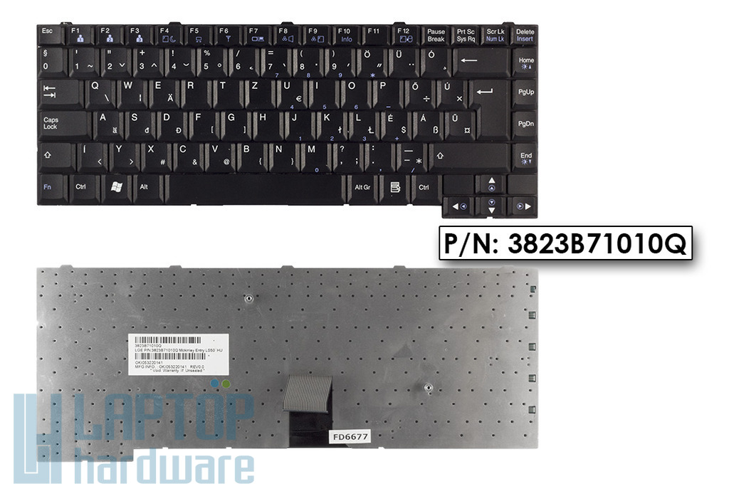 LG LS50, GS50  használt magyar laptop billentyűzet (3823B71010Q)
