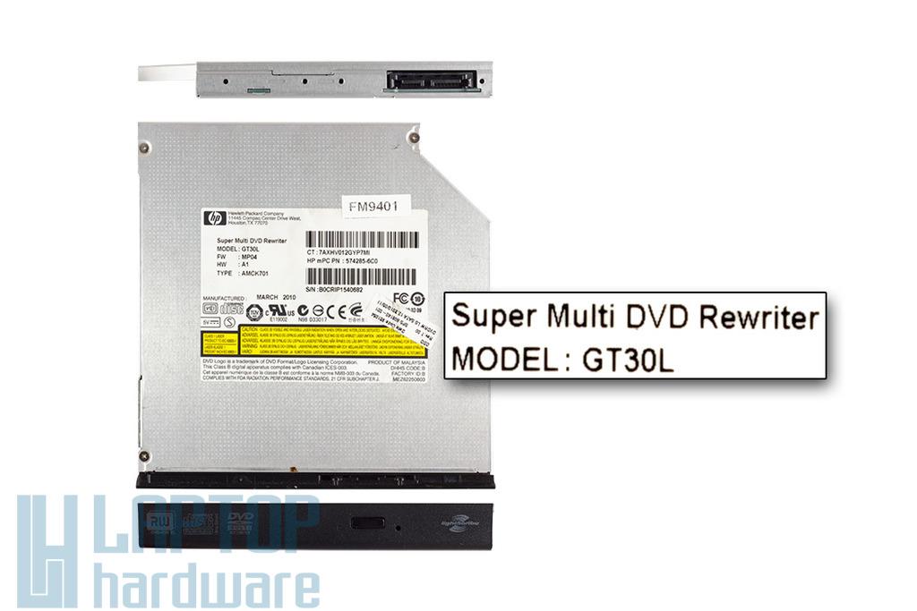 LG SATA használt notebook DVD Író GT30L
