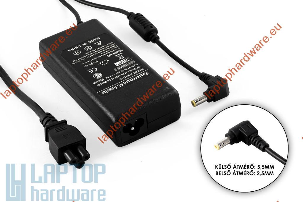Fujitsu, Delta, LiteOn 20V 4.5A 90W helyettesítő használt laptop töltő (PA-1900-05,LSE0202D2090)