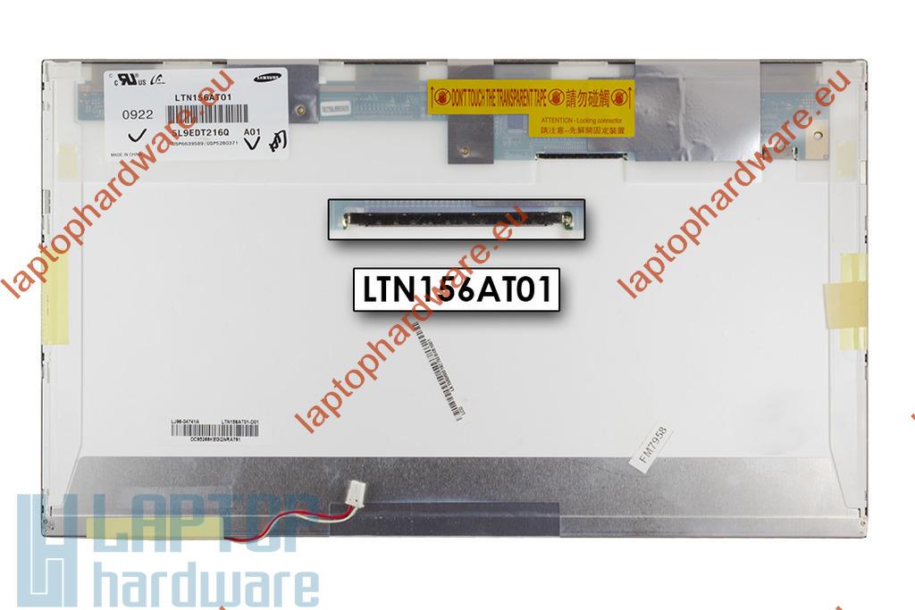 LTN156AT01 1366x768 HD CCFL használt  C kategoriás kijelző laptophoz