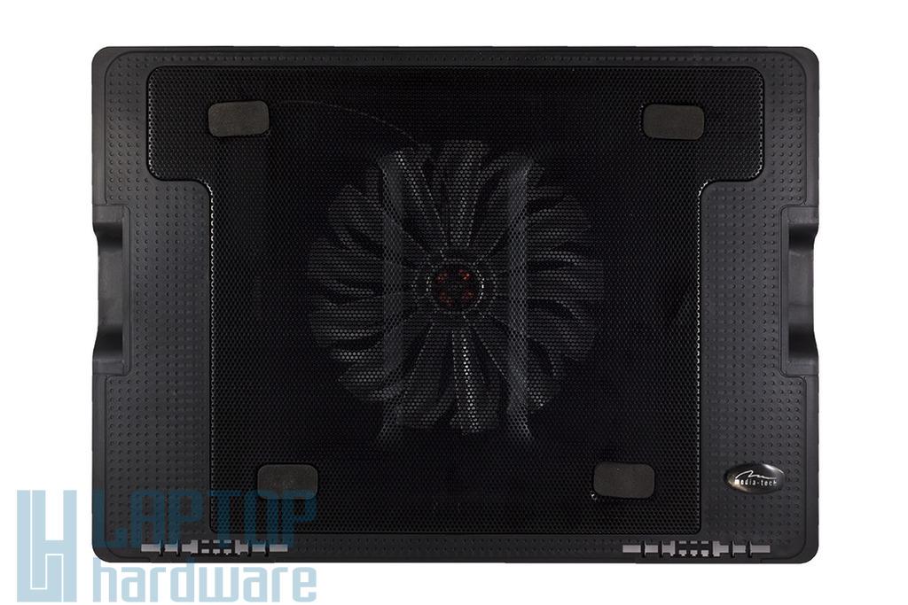 Media-Tech MT2658 Heat Buster 4 fekete laptop hűtőpad (16cm ventilátor)