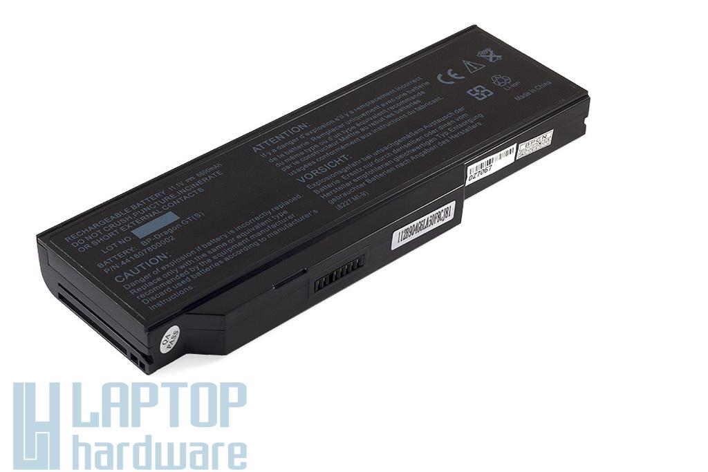 Medion Akoya E8410, P7610, P8611 helyettesítő új 9 cellás laptop akkumulátor, BP3S3P2150