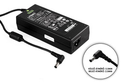 Acer, Fujitsu - LiteOn 20V 6A 120W gyári új laptop töltő (A-1121-02, PA-1900-06)