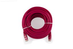 10m CAT.6E piros UTP Patch kábel, WL022BG-10 RE