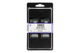 16GB (2x8GB) DDR3 1600MHz gyári új Kingston laptop memória kit (KVR16S11K2/16)