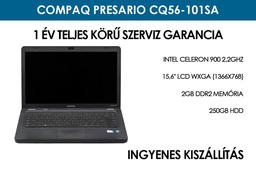 Compaq Presario CQ56-101SA használt laptop | Intel Celeron 900 2,2Ghz | 2GB RAM | 250GB HDD | WIFI
