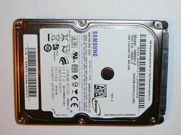 640GB 5400RPM 2,5'' SATA (3Gbit/s) gyári új laptop winchester, HDD