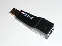Intellinet USB/LAN adapter
