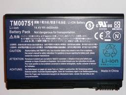 Acer Extensa 5630 laptop akkumulátor, gyári új, 8 cellás (4400mAh)
