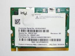 Intel 2200BG használt WIFI kártya HP laptopokhoz (WM3B2200BG)