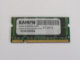 Kahlon 1GB DDR2 667MHz használt laptop memória HP laptopokhoz