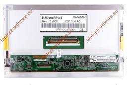 HannStar HSD101PFW2 B00 WSVGA 1024x600 használt LED netbook kijelző matt