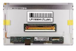 Gyári új fényes 11.6'' HD (1366x768) LED laptop kijelző (csatlakozó: 40 pin - jobb)