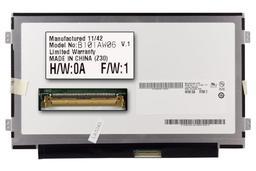 Gyári új fényes 10.1'' (1024x600) LED laptop Slim kijelző (csatlakozó: 40 pin - jobb)