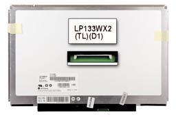 Gyári új fényes 13.3'' (1280x800) LED laptop Slim kijelző (csatlakozó: 40 pin - jobb)