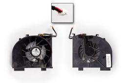 HP Pavilion DV5, DV6, DV7 használt laptop hűtő ventilátor 1 air out