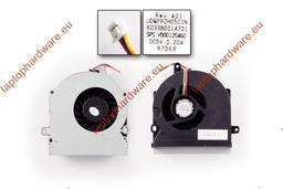 Toshiba Satellite (Pro) A300, L300, L350, L355 gyári új hűtő ventilátor (UDQFZZH19C1N, V000120460)