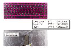 Lenovo IdeaPad Z370, Z470 gyári új magyar pink laptop billentyűzet (AEKL6400120)