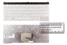Lenovo IdeaPad S10-3T gyári új magyar fekete-fehér laptop billentyűzet (25010151)