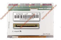 Chi-Mei N150X3 XGA 1024x768 B kategóriás használt matt laptop kijelző (N150X3-L07)